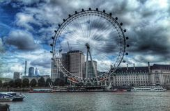 oeil Londres photographie stock
