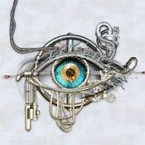 Oeil mécanique Images libres de droits