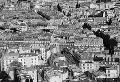 Oeil proche sur le vieux bloc de ville de Paris Photographie stock