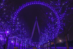 Oeil R-U de Londres Image libre de droits