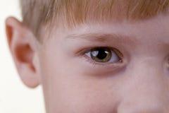 oeil s d'enfant Photographie stock