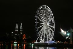 Oeil sur la Malaisie Photographie stock