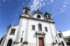Oeiras Farny kościół Obraz Royalty Free