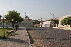 Oeiras, the first capital of Piaui, Brazil royalty free stock images