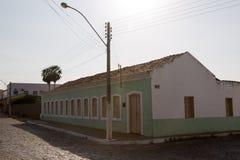 Oeiras, het eerste kapitaal van Piaui, Brazilië stock foto