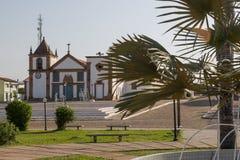 Oeiras, het eerste kapitaal van Piaui, Brazilië stock foto's