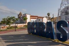 Oeiras, la primera capital de Piaui, el Brasil fotografía de archivo libre de regalías