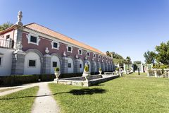 Oeiras pałac loch Zdjęcia Royalty Free