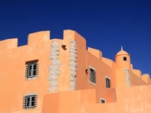 Oeiras Saint John's fortress Royalty Free Stock Images