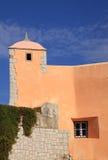 Oeiras Saint John's fortress turret Royalty Free Stock Image