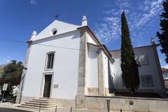 Oeiras Santo Amaro教堂 库存照片