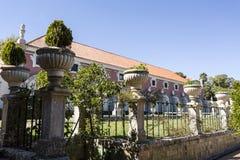Oeiras slottkällare Fotografering för Bildbyråer