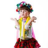 Oekraïens babymeisje Stock Foto
