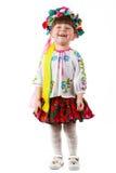 Oekraïens babymeisje Royalty-vrije Stock Fotografie