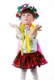 Oekraïens babymeisje Royalty-vrije Stock Afbeeldingen
