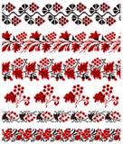 Oekraïens borduurwerkornament Stock Afbeelding