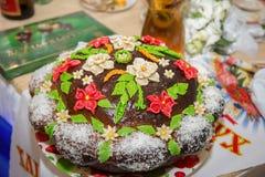 Oekraïens brood Stock Afbeeldingen