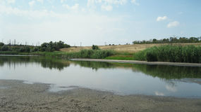 Oekraïens dorp Stock Fotografie