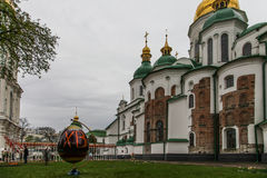 Oekraïens Festival van paaseieren 17.04.2014 - 05.05.2014 Kyiv, stock foto