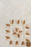 Oekraïens geborduurd volkspatroonornament Etnisch textuurontwerp Geometrisch ornament royalty-vrije stock afbeelding