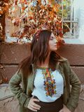 Oekraïens meisje stock afbeeldingen