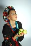Oekraïens meisje stock afbeelding