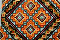 Oekraïens met de hand gemaakt borduurwerk stock afbeeldingen