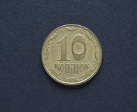 Oekraïens muntstuk UHA Stock Foto's