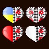 Oekraïens Nationaal hart Royalty-vrije Stock Fotografie