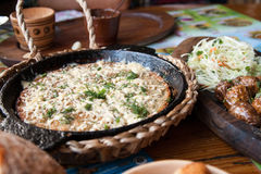 Oekraïens nationaal voedsel Stock Afbeelding