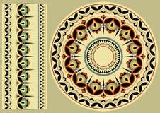 Oekraïens ornament Stock Afbeeldingen