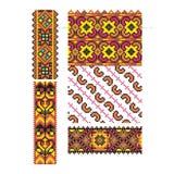 Oekraïens ornament vectordeel 1 Royalty-vrije Stock Foto's