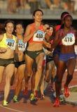 Oekraïense atleet Olha Lyakhova Stock Foto's