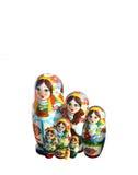 Oekraïense babuschkapoppen Stock Afbeelding