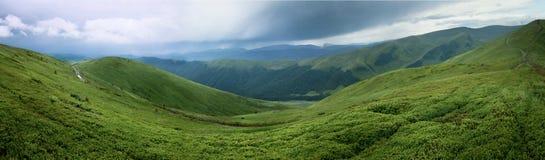Oekraïense bergen Royalty-vrije Stock Fotografie