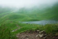 Oekraïense bergen Royalty-vrije Stock Afbeelding