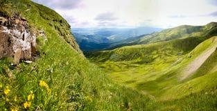 Oekraïense bergen Royalty-vrije Stock Foto's