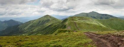 Oekraïense bergen Stock Afbeelding
