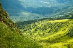 Oekraïense bergen Royalty-vrije Stock Foto