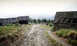 Oekraïense bergen Stock Foto