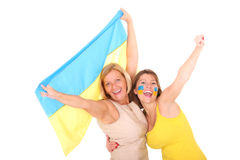 Oekraïense familie Stock Afbeelding