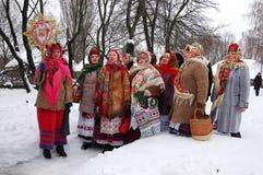Oekraïense Kerstmis stock foto