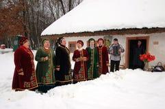 Oekraïense Kerstmis Stock Fotografie