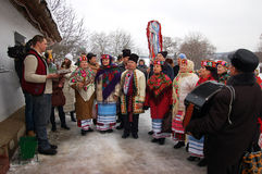 Oekraïense Kerstmis Royalty-vrije Stock Afbeelding