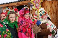 Oekraïense Kerstmis royalty-vrije stock foto's