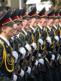 Oekraïense militairen Stock Fotografie