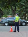 Oekraïense politieagent Royalty-vrije Stock Afbeeldingen