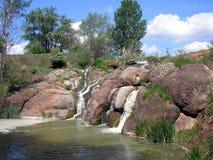 Oekraïense rivier Buky Stock Foto's