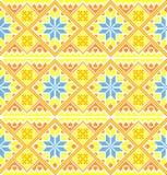 Oekraïense stijlachtergrond Stock Fotografie