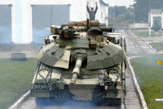 Oekraïense tank Stock Afbeeldingen